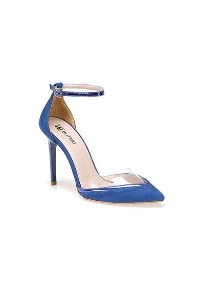 Butigo 19SF-191167Z SÜET Mavi Kadın Topuklu Ayakkabı