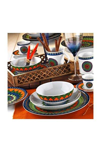 Kütahya Porselen 8982 Desen 24 Parça Yemek Seti