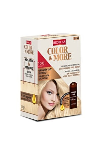 Bıoblas Color&more 10.0 Acık Sarı