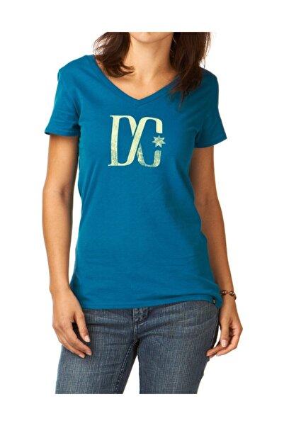 DC Marble Tee Deep Blue Kadın Tişört