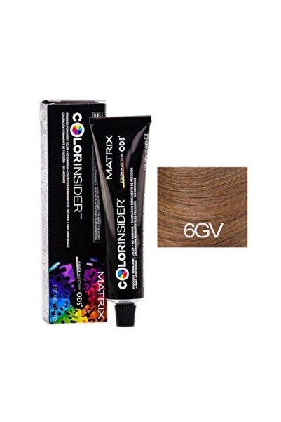 Color Insider 6gv/6,32 Dark Blonde Gold Violet Permanent Color 2oz