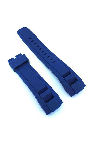 Seiko Yeni Velatura SNP121P 22mm Mavi Silikon Saat Kordonu 405SKO