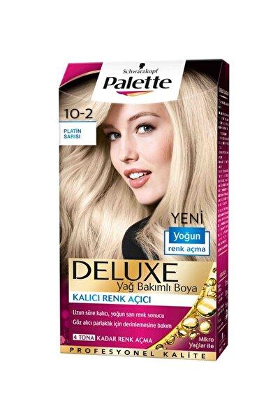SCHWARZKOPF HAIR MASCARA Palette Platin Sarısı 10-2 Tüp Krem Saç Boyası 50 ml
