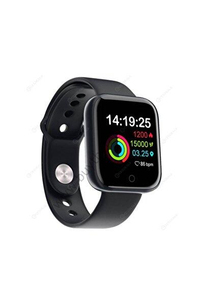 Teknomarketim Smart Watch Akıllı Saat Unisex Saat Renkli Ekran Siyah