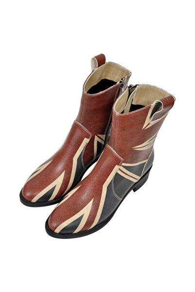 Dogo British Flag Kadın Kovboy Çizme
