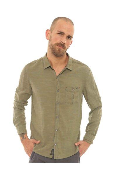 Cazador Caz 2007 Uzun Kol Gömlek Hakı
