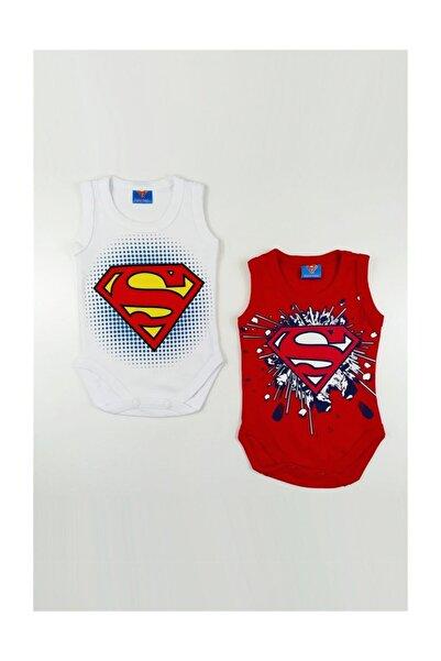 Superman Süpermen 2 Li Askılı Badi