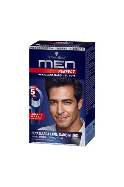 SCHWARZKOPF HAIR MASCARA Men Perfect 90 Siyah 1 Li
