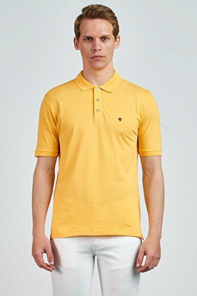 Giovane Gentile Erkek Sarı Giovane G. Designers T-Shirt GC0660202124