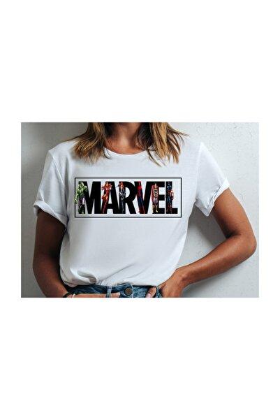 JOKERMERSİN Kadın Marvel T-shırt
