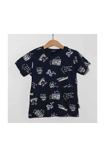 Miss Tuffy Erkek Çocuk T-shirt Gess Boy G19-353