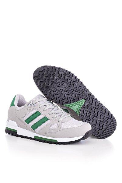 Unısex Spor Ayakkabı Gri Yeşil