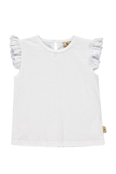 Bellybutton Kız Çocuk Beyaz T-shirt