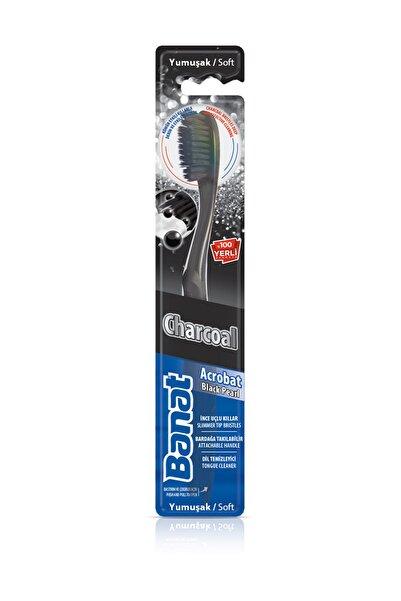 Banat Charcoal Acrobat Black Pearl Diş Fırçası