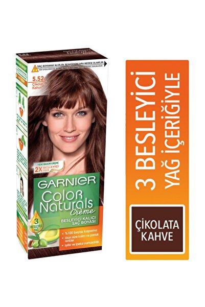 Garnier Color Naturals Saç Boya.5.52 Çikolata Kahve