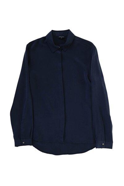 Fabrika Kadın Lacivert Gömlek 504394281 Boyner