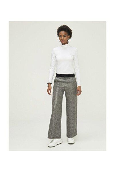 Xint Normal Bel Geniş Paça Pantolon - 20kb02470193-01