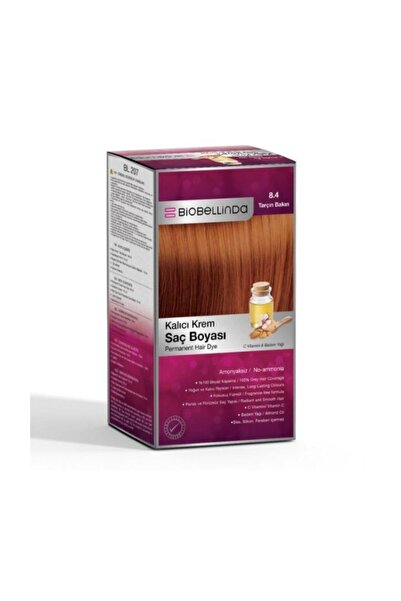BioBellinda Saç Boyası 8.4 Tarçın Bakırı