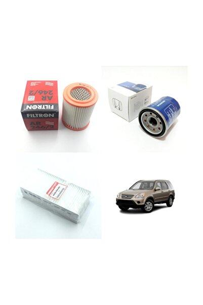 Filtron Honda Cr-v 2.0 (2002 - 2007) Benzinli Filtre Bakım Seti