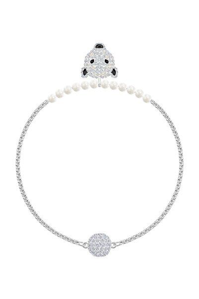 Swarovski Bilezik Polar Bestiary:Bracelet Bear Cry/Rhs M 5493706