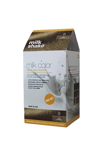 Milkshake Milk_shake Milk Color Eko-kit Açık Kumral -8 -köpüksüz