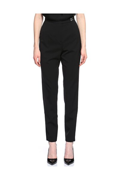 Lanvin Yüksek Bel Siyah Pantolon