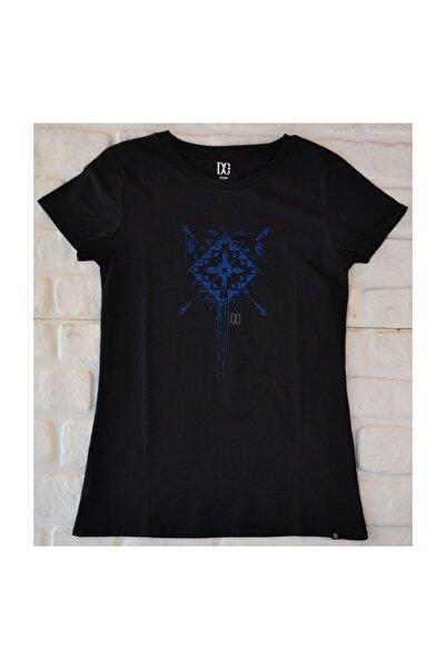 DC Divain Tee Black Kadın Tişört