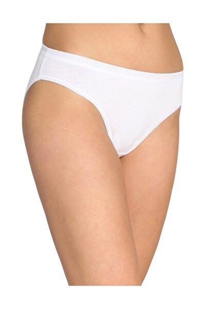Tutku Kadın 6'lı Paket Bikini Slip Külot (beyaz)