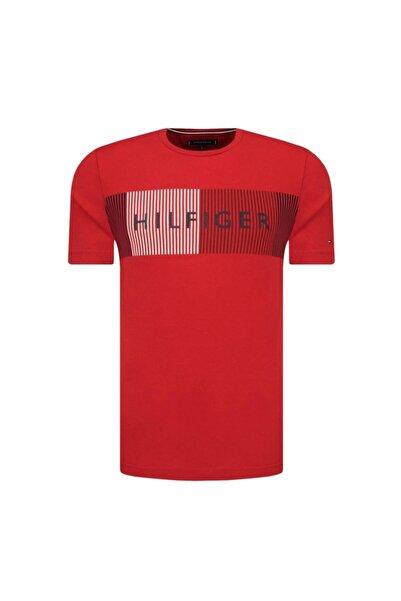Tommy Hılfıger T-shirt Kırmızı Mw0mw10829