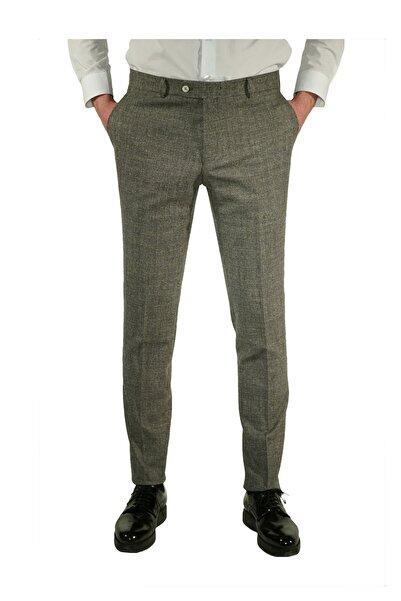 İgs Gri Slim Fit Pantolon (Exclusive)