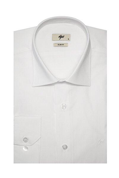 İgs Beyaz Slim Fit Gömlek