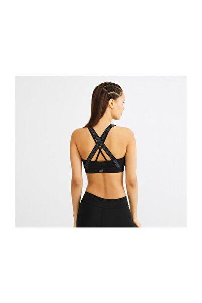 SKECHERS Bra W Cross Stripe Fashion Bra Kadın Spor Sütyeni - S201080-001