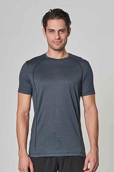 bilcee Antrasit Erkek Antrenman T-Shirt DW-2272