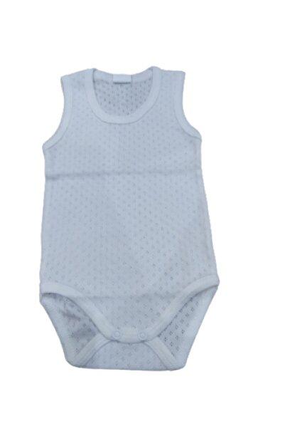 Puki Bebek Beyaz Çıtçıtlı Badi