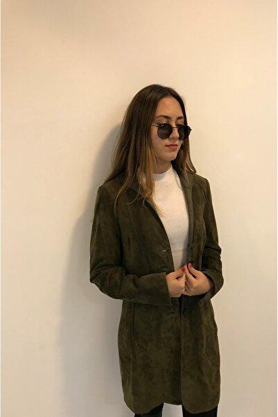 ASUS Kadın Haki Karolına Ceket