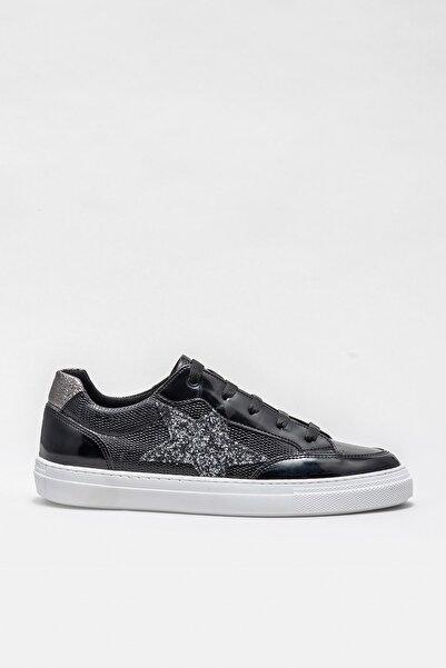 Elle Shoes Kadın Krystal-1 Sıyah Casual Ayakkabı 20KRGN-51