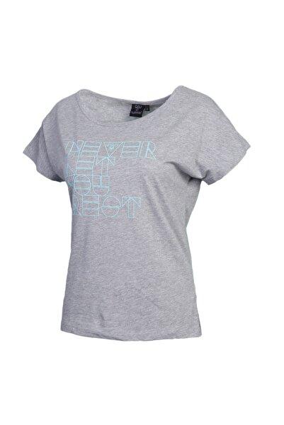 HUMMEL Kadın Gri Tişört Amber 910141-2006