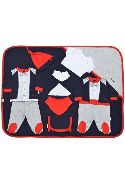 Pierre Cardin Baby Pierre Cardin Bebek Giyim 10'lu Hastane Çıkış Seti Papyonlu Lacivert