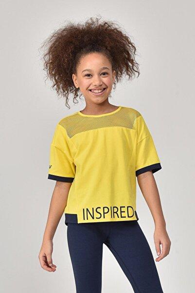 bilcee Sarı Kız Çocuk T-Shirt GS-8193