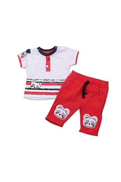 Miniworld Panda Kırmızı Erkek Takım