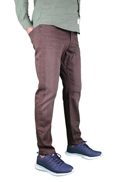 Loft Koyu Kahverengi Slim Fit Kot Pantolon