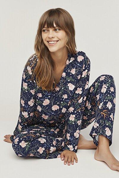 Penti Kadın Flowers In Sky Pijama Takımı