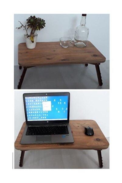 Depolife Yemek Servis Sehpası Katlanır Ayaklı Laptop Notebook Ders Çalışma Masası Servis
