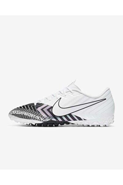 Nike Erkek Beyaz Mercurial Vapor 13 Academy Mds Tf Halı Saha Ayakkabısı
