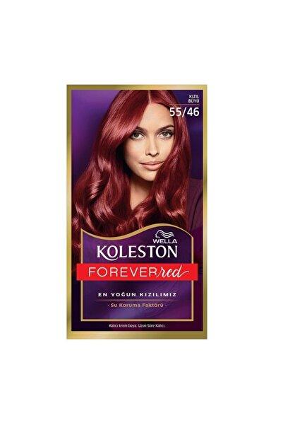 Koleston Set Saç Boyası 55.46 Kızıl Büyü