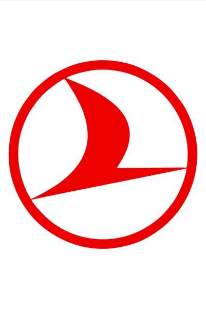 Quart Aksesuar Türk Hava Yolları Sticker Oto Sticker Araba Cam Sticker 8 X 8 Cm 2 Adet