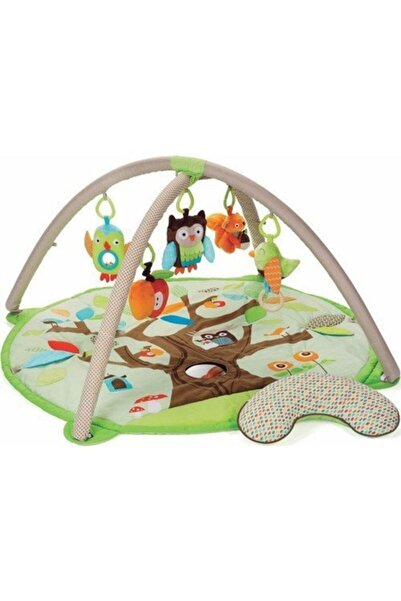 Sozzy Toys Yeşil Pamuklu Mutlu Bebek Oyun Halısı