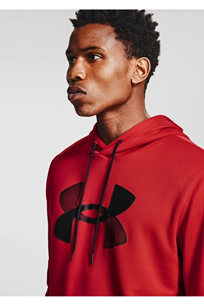 Under Armour Erkek Spor Sweatshirt - Ua Armour Fleece Big Logo Hd - 1357085-600
