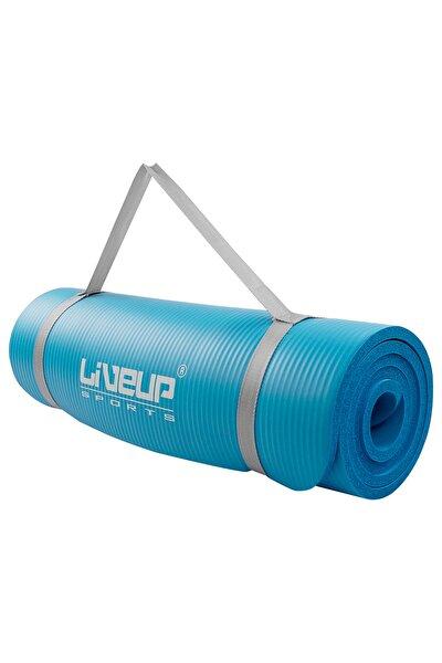 Liveup LS3257 Köpük Pilates Matı-Minderi Mavi