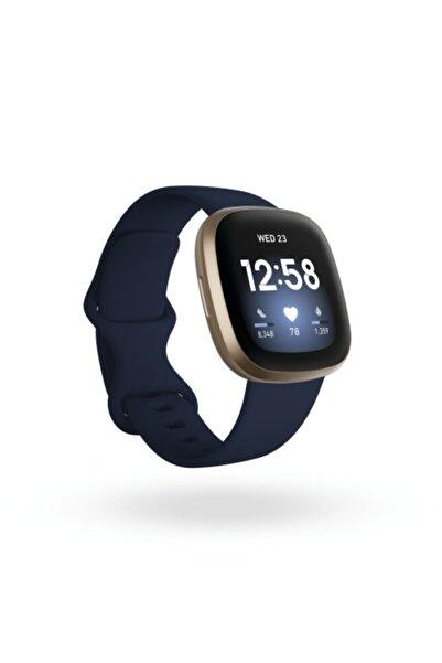 Fitbit Versa 3 Akıllı Saat - Gece Mavisi/Altın